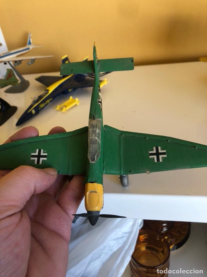 Modelos a escala: Lote de 6 aviones de juguete, distintos materiales y épocas - Foto 12 - 182759877