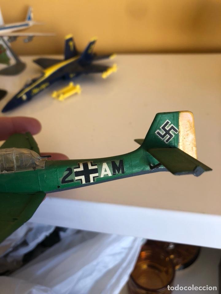 Modelos a escala: Lote de 6 aviones de juguete, distintos materiales y épocas - Foto 13 - 182759877