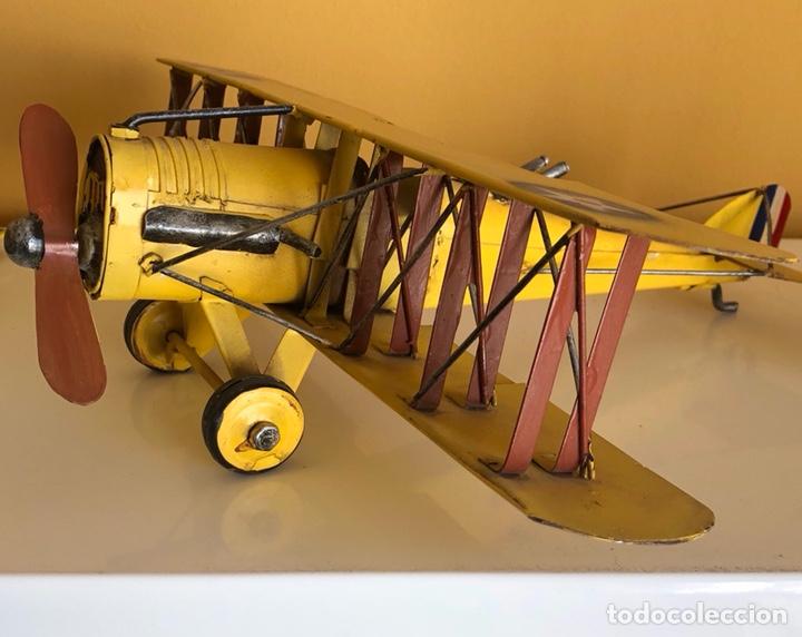 Modelos a escala: Lote de 6 aviones de juguete, distintos materiales y épocas - Foto 16 - 182759877