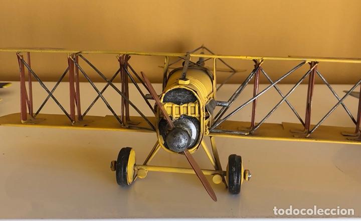 Modelos a escala: Lote de 6 aviones de juguete, distintos materiales y épocas - Foto 17 - 182759877