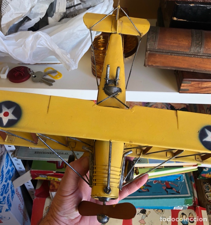 Modelos a escala: Lote de 6 aviones de juguete, distintos materiales y épocas - Foto 18 - 182759877