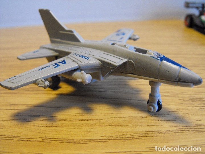AVIÓN METÁLICO F 14 TOMCAT . 10 CM. (Juguetes - Modelos a escala)
