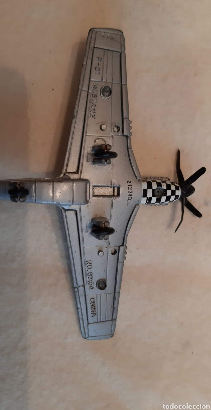 Modelos a escala: Lote de 5 aviones de plomo - Foto 3 - 183685127