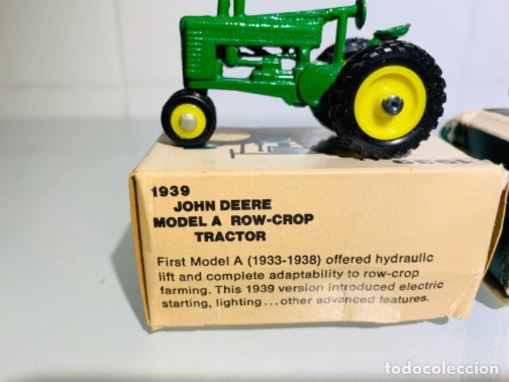 Modelos a escala: Antigua Colección ERTL 8 Tractores John Deere 1892-1973. Completa+Extraordinario estado. Ppios. '70s - Foto 11 - 183820612