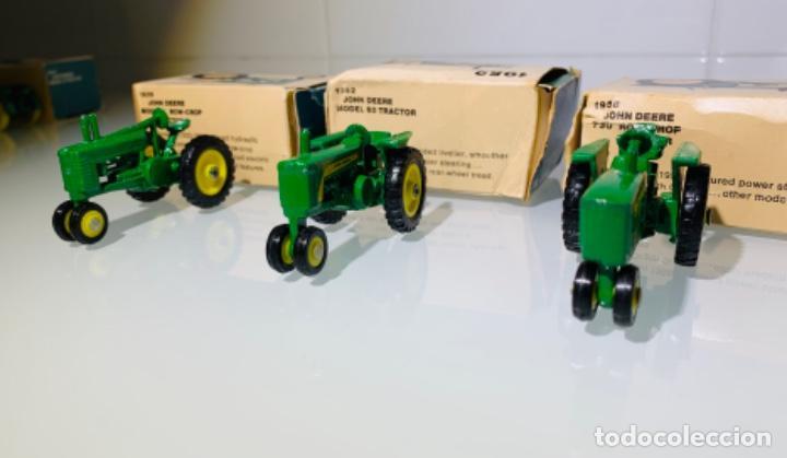 Modelos a escala: Antigua Colección ERTL 8 Tractores John Deere 1892-1973. Completa+Extraordinario estado. Ppios. '70s - Foto 14 - 183820612