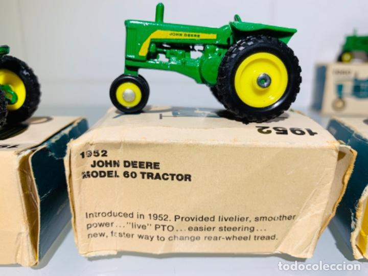 Modelos a escala: Antigua Colección ERTL 8 Tractores John Deere 1892-1973. Completa+Extraordinario estado. Ppios. '70s - Foto 15 - 183820612