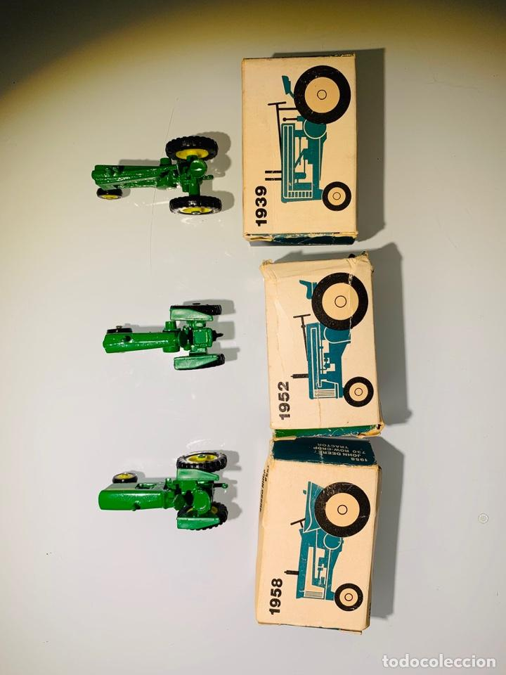 Modelos a escala: Antigua Colección ERTL 8 Tractores John Deere 1892-1973. Completa+Extraordinario estado. Ppios. '70s - Foto 16 - 183820612