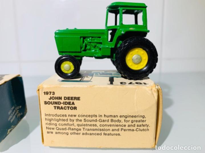 Modelos a escala: Antigua Colección ERTL 8 Tractores John Deere 1892-1973. Completa+Extraordinario estado. Ppios. '70s - Foto 19 - 183820612