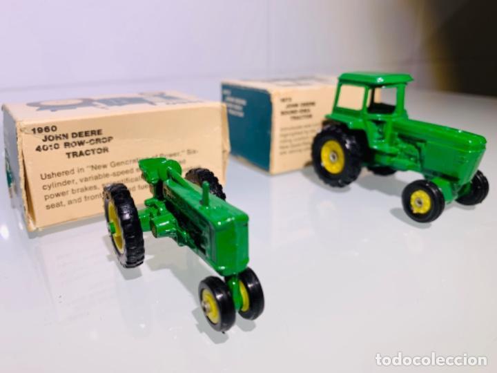 Modelos a escala: Antigua Colección ERTL 8 Tractores John Deere 1892-1973. Completa+Extraordinario estado. Ppios. '70s - Foto 20 - 183820612