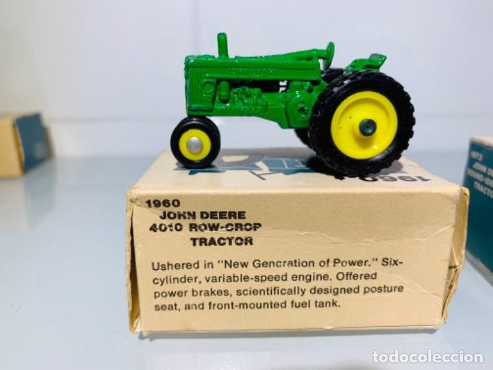 Modelos a escala: Antigua Colección ERTL 8 Tractores John Deere 1892-1973. Completa+Extraordinario estado. Ppios. '70s - Foto 22 - 183820612