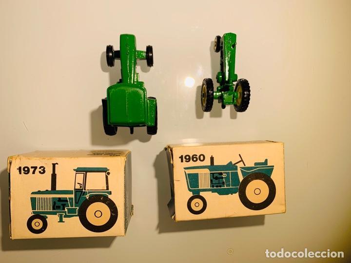 Modelos a escala: Antigua Colección ERTL 8 Tractores John Deere 1892-1973. Completa+Extraordinario estado. Ppios. '70s - Foto 23 - 183820612