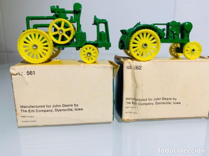 Modelos a escala: Antigua Colección ERTL 8 Tractores John Deere 1892-1973. Completa+Extraordinario estado. Ppios. '70s - Foto 26 - 183820612
