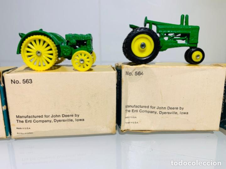 Modelos a escala: Antigua Colección ERTL 8 Tractores John Deere 1892-1973. Completa+Extraordinario estado. Ppios. '70s - Foto 27 - 183820612