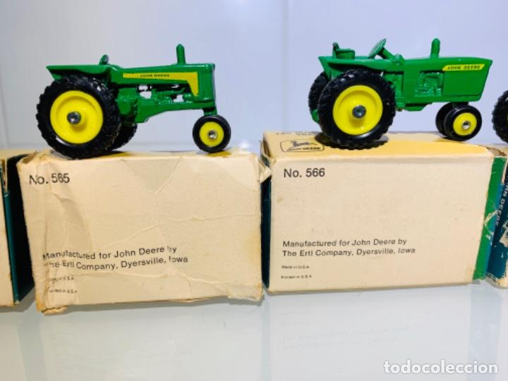Modelos a escala: Antigua Colección ERTL 8 Tractores John Deere 1892-1973. Completa+Extraordinario estado. Ppios. '70s - Foto 29 - 183820612