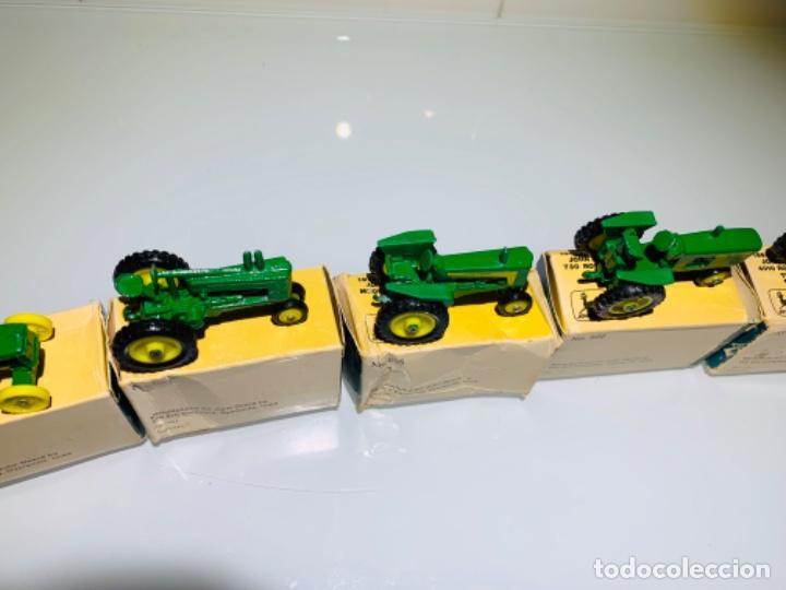 Modelos a escala: Antigua Colección ERTL 8 Tractores John Deere 1892-1973. Completa+Extraordinario estado. Ppios. '70s - Foto 31 - 183820612