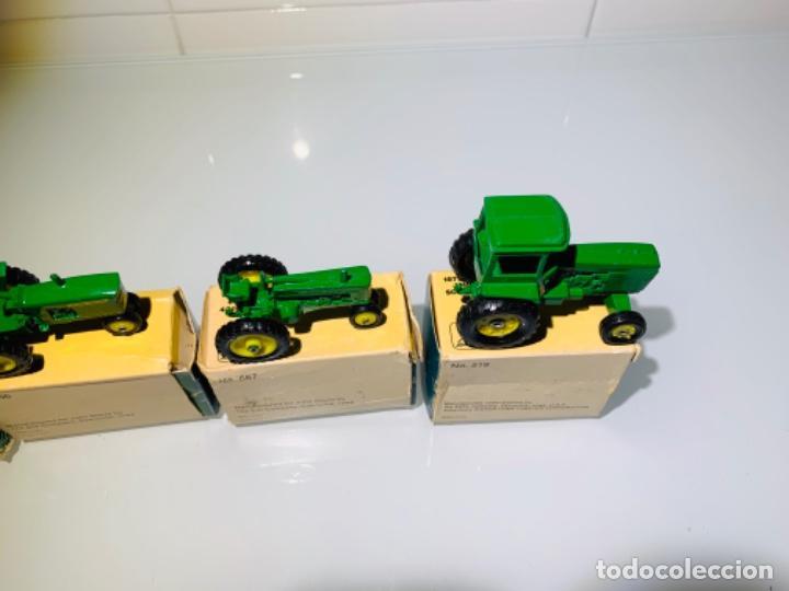 Modelos a escala: Antigua Colección ERTL 8 Tractores John Deere 1892-1973. Completa+Extraordinario estado. Ppios. '70s - Foto 32 - 183820612
