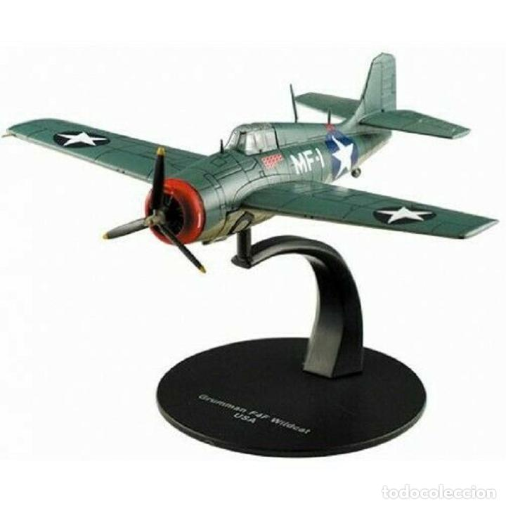 GRUMMAN F4F WILDCAT USA WWII 1:72 AVION DIECAST ALTAYA (Juguetes - Modelos a escala)
