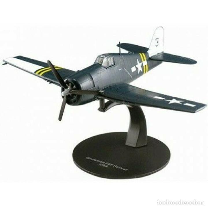 GRUMAN F6F 5N HELLCAT USA WWII 1:72 FIGHTER WWII 1:72 AVION DIECAST ALTAYA (Juguetes - Modelos a escala)