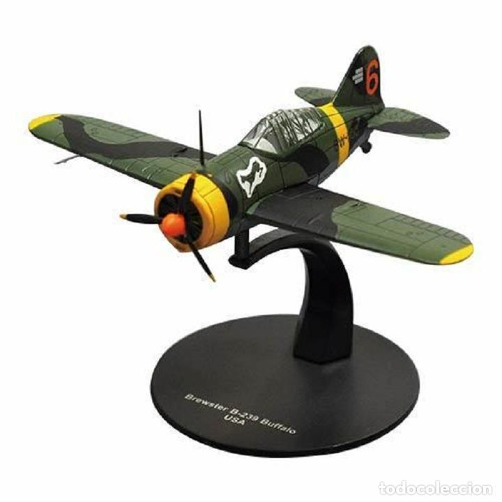 BREWSTER B-239 BUFFALO USA WWII 1:72 AVION DIECAST ALTAYA (Juguetes - Modelos a escala)