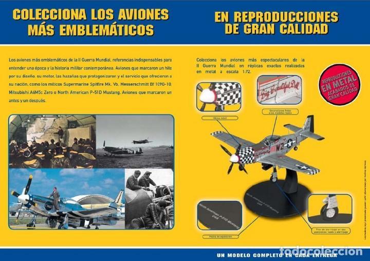Modelos a escala: Brewster B-239 Buffalo USA WWII 1:72 Avion diecast Altaya - Foto 3 - 184321210