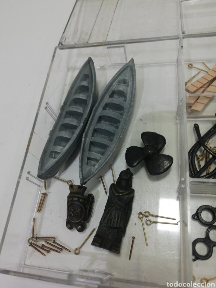 Modelos a escala: Piezas maqueta Juan Sebastián Elcano - Foto 2 - 184393703