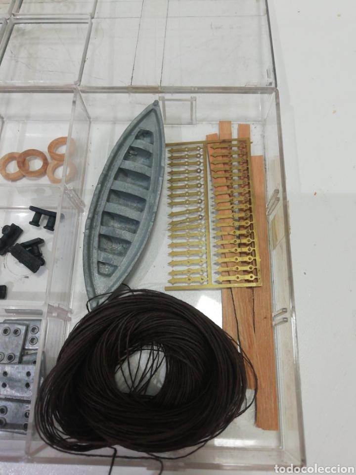Modelos a escala: Piezas maqueta Juan Sebastián Elcano - Foto 3 - 184394083
