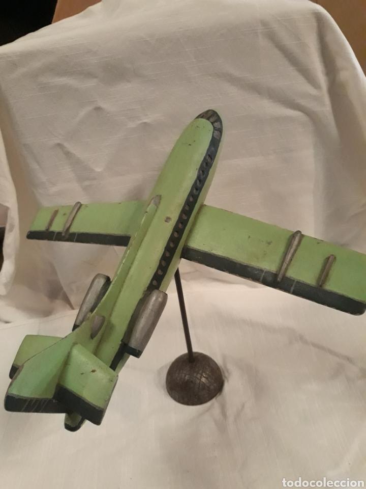 Modelos a escala: Avión juguete madera - Foto 2 - 184638371
