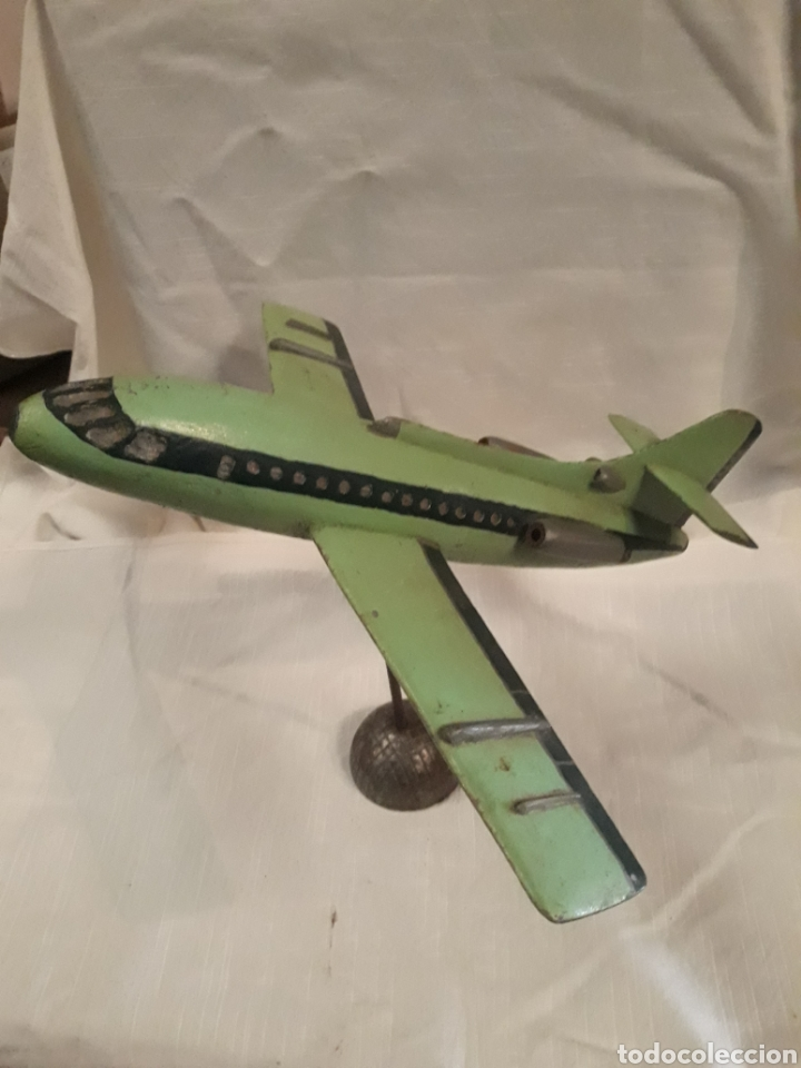 Modelos a escala: Avión juguete madera - Foto 3 - 184638371