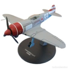 Modelos a escala: LAVOCHKIN LA-7 USSR WWII 1:72 AVION DIECAST ALTAYA. Lote 186456668