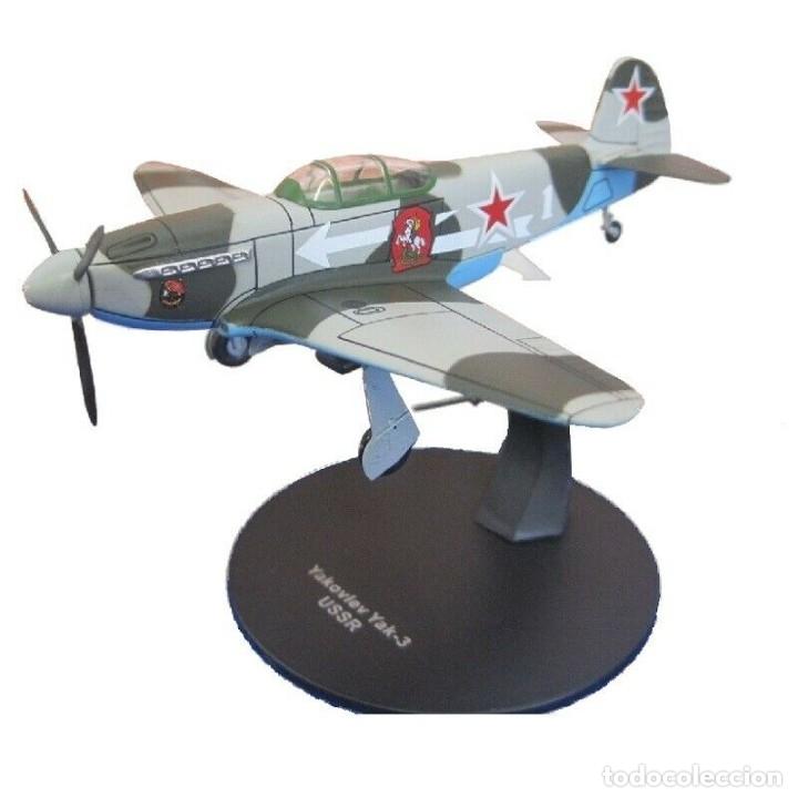 YAKOVLEV YAK-3 USRR WWII 1:72 AVION DIECAST ALTAYA (Juguetes - Modelos a escala)