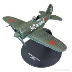 Modelos a escala: POLIKARPOV I-16 USSR WWII 1:72 AVION DIECAST ALTAYA. Lote 186456696