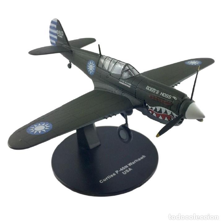 CURTISS P-40N WARHAWK USA WWII 1:72 AVION DIECAST ALTAYA (Juguetes - Modelos a escala)