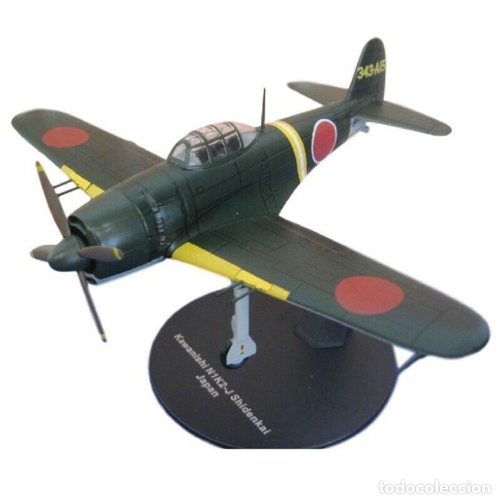 KAWANISHI N1K2-J SHIDENKAI JAPAN WWII 1:72 AVION DIECAST ALTAYA (Juguetes - Modelos a escala)