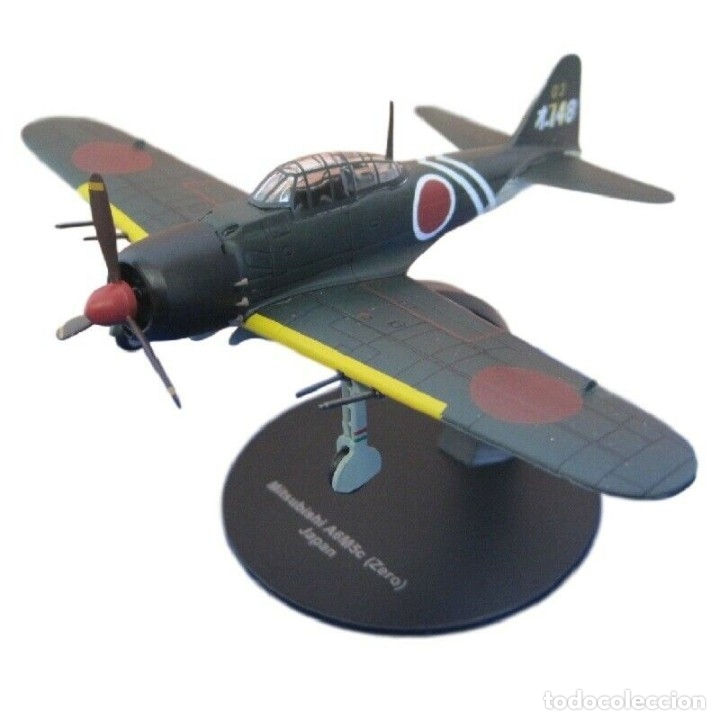 MITSUBISHI A6M5C ZERO JAPAN WWII 1:72 AVION DIECAST ALTAYA (Juguetes - Modelos a escala)