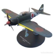 Modelos a escala: MITSUBISHI A6M5C ZERO JAPAN WWII 1:72 AVION DIECAST ALTAYA. Lote 189373770