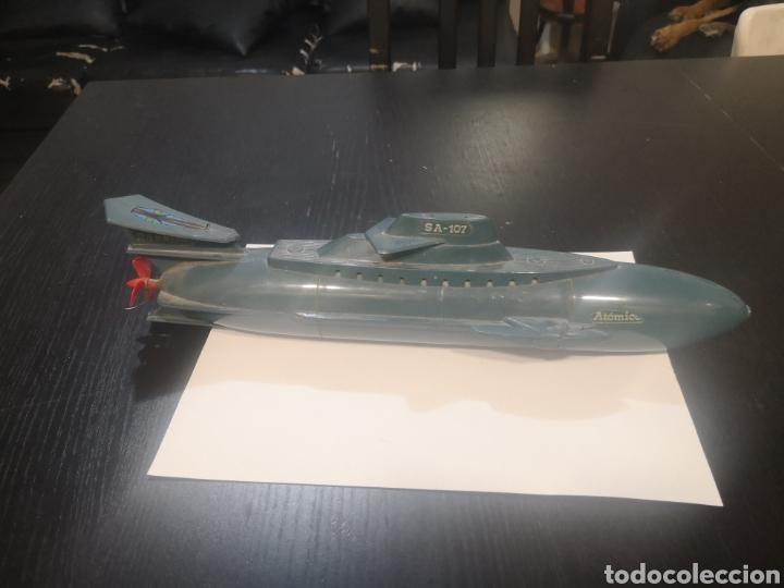 SUBMARINO ATOMICO RANETTA SA-107 (Juguetes - Modelos a escala)