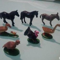 Modelos a escala: LOTE ANIMALES, GRANJA O BELÉN PLÁSTICO.. Lote 192236560