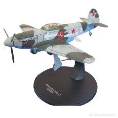 Modelos a escala: YAKOVLEV YAK-3 USRR WWII 1:72 AVION DIECAST ALTAYA. Lote 210609416