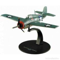 Modelos a escala: GRUMMAN F4F WILDCAT USA WWII 1:72 AVION DIECAST ALTAYA. Lote 210609430