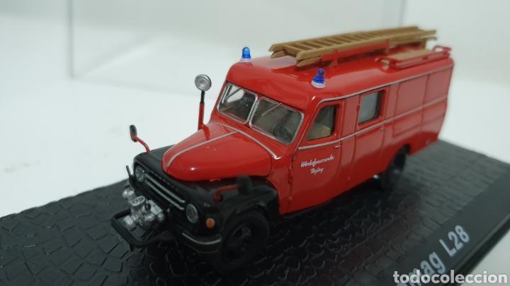 Modelos a escala: Camión de bomberos Hanomag L28. - Foto 2 - 193323792