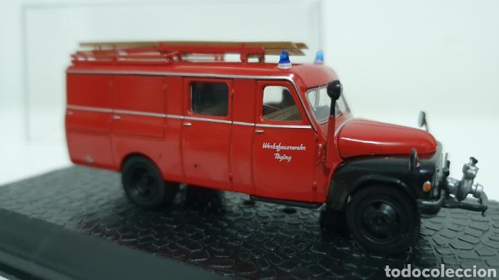 Modelos a escala: Camión de bomberos Hanomag L28. - Foto 3 - 193323792