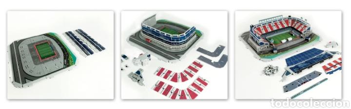 Modelos a escala: puzzle 3d estadio Vicente Calderón Atlético Madrid nuevo - Foto 2 - 194131932