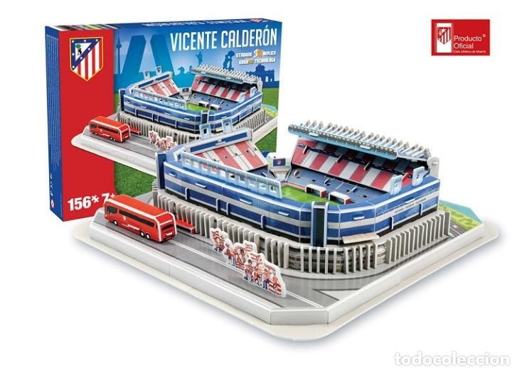 PUZZLE 3D ESTADIO VICENTE CALDERÓN ATLÉTICO MADRID NUEVO (Juguetes - Modelos a escala)