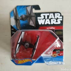 Modelos a escala: STAR WARS HOT WHEELS FIRST ORDER TIE FIGHTER BLISTER NUEVO SIN ABRIR MATTEL. Lote 194205838