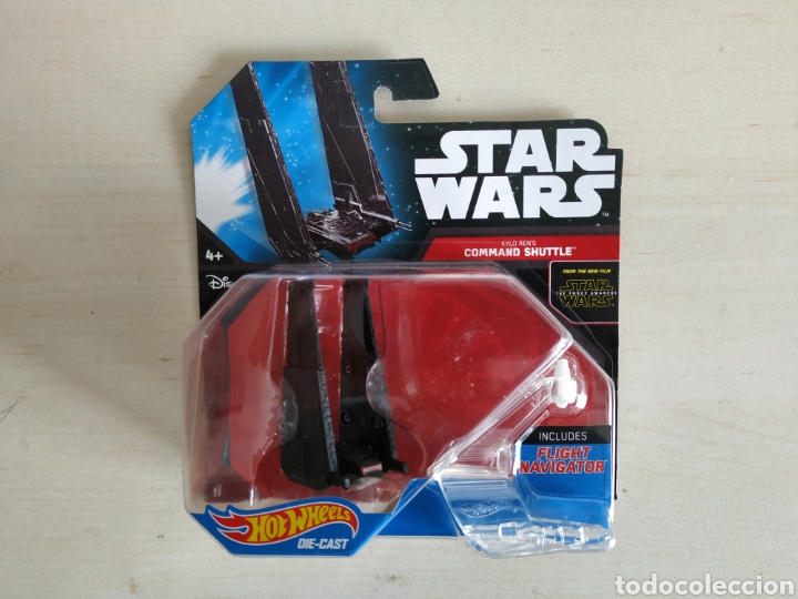 Modelos a escala: STAR WARS HOT WHEELS KYLO REN COMMAND SHUTTLE BLISTER NUEVO SIN ABRIR MATTEL - Foto 1 - 194206058