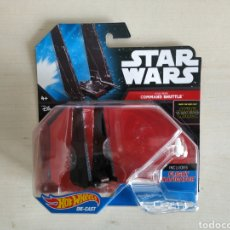 Modelos a escala: STAR WARS HOT WHEELS KYLO REN COMMAND SHUTTLE BLISTER NUEVO SIN ABRIR MATTEL. Lote 194206058