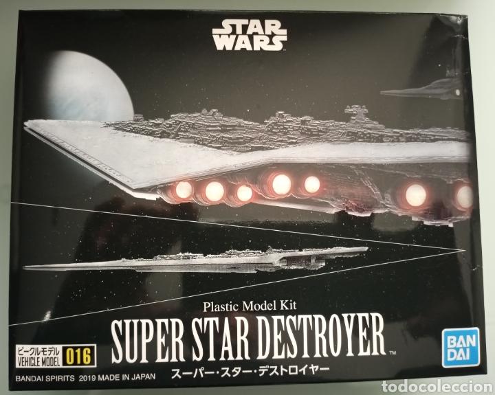 MAQUETA SUPER STAR DESTROYER. STAR WARS. BANDAI. NUEVA (Juguetes - Modelos a escala)