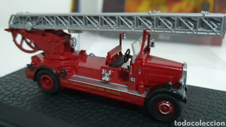 Modelos a escala: Camion bomberos Leyland TLM. - Foto 2 - 194224186