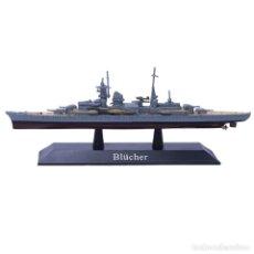 Modelos a escala: BLUCHER ACORAZADO WWII 1:1250 USA ATLAS EDITIONS DIECAST 29. Lote 194303256