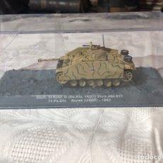 Modelos a escala: MAQUETA 1/43 CARRO DE GUERRA NAZI STUG III AUSF KURSK 1943 ALTAYA. Lote 195085566